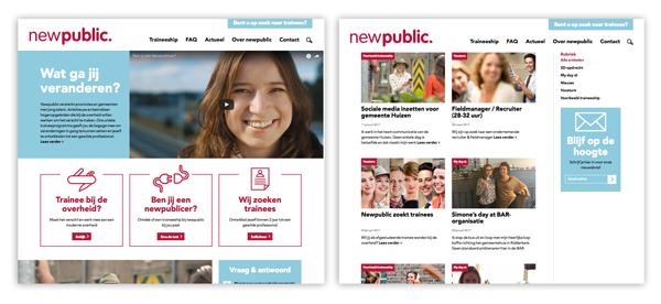 voorbeeld newpublic site