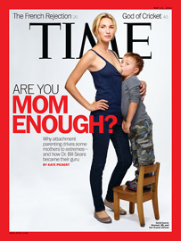 Shareable cover van Time magazine